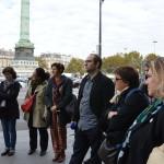 Avec les éluEs, les responsables de la DVD, DEV, et autres délégations de la Mairie de Paris
